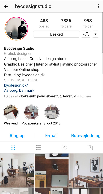 instagram navne ideer